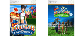 3D Ultra Minigolf Adventures Series