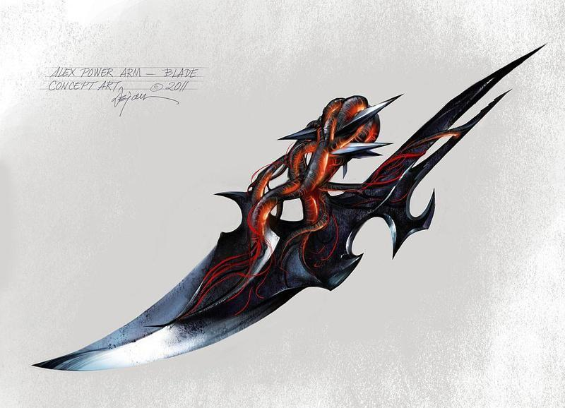 Alex Mercer Power Blade