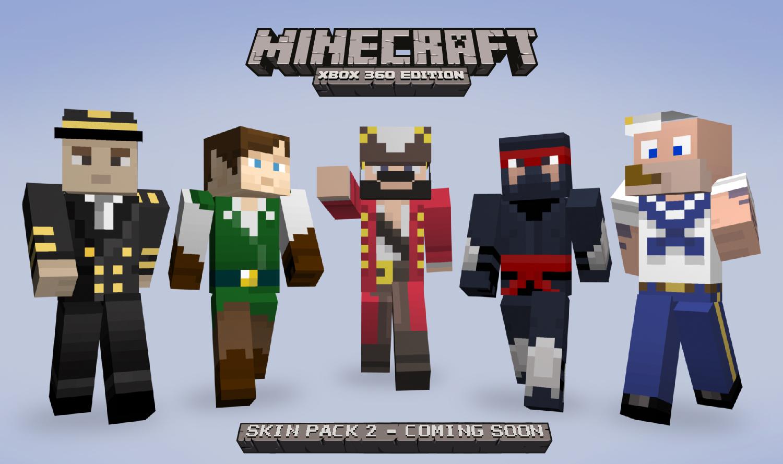 Xbox 360 Minecraft Skins Enderman Skins Pack 2 DLC