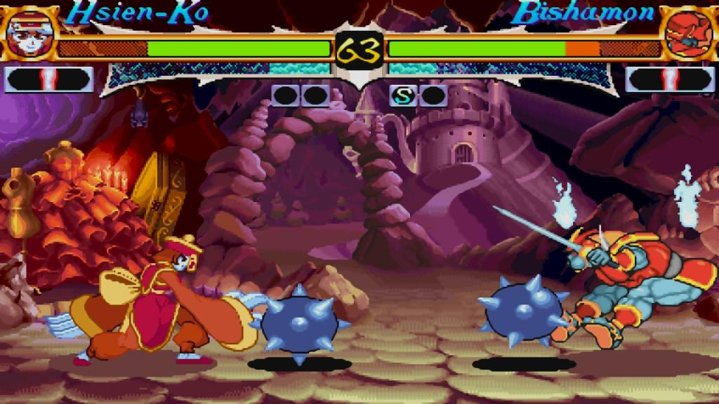 13/10/12 Night Warriors: Darkstalkers Revenge 6