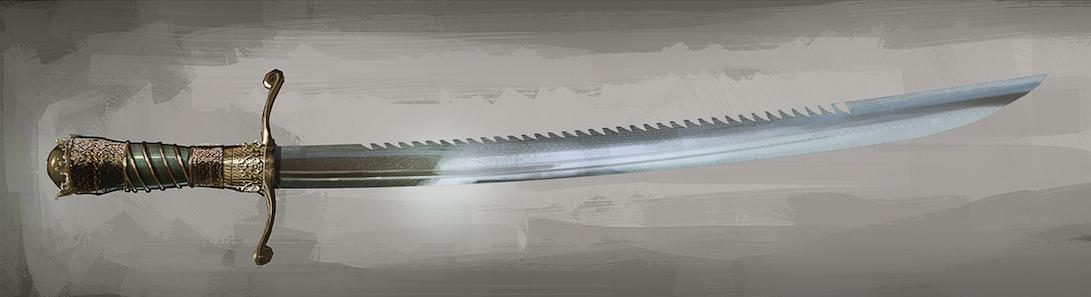 Sawtooth Sword