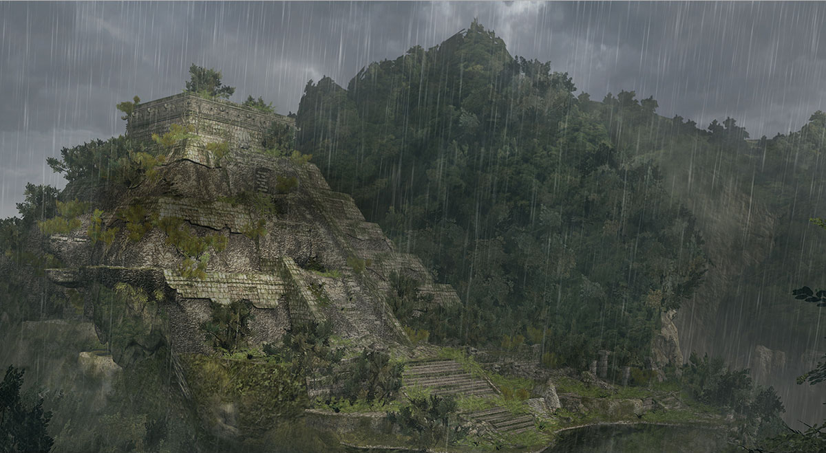 Lost Mayan Ruins
