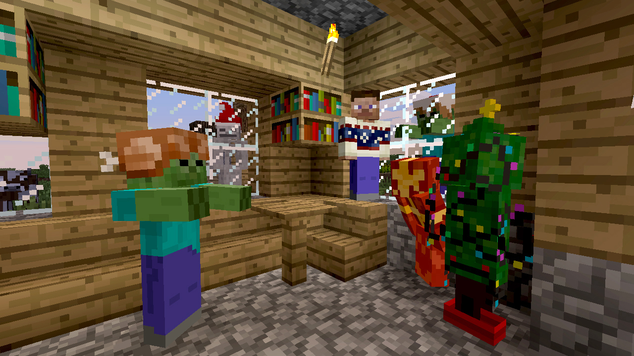 As detailed in yesterday s article the quot festive skin pack quot for