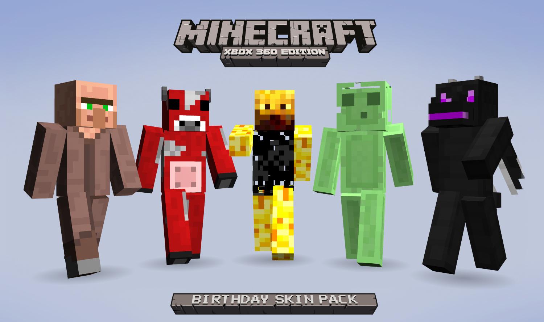 Xbox 360 Minecraft Skins Enderman Minecraft Celebrates I...