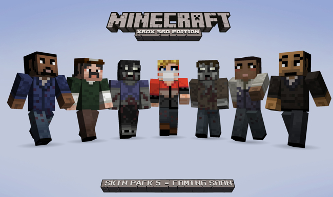 Skin Pack 5 Walking Dead 1