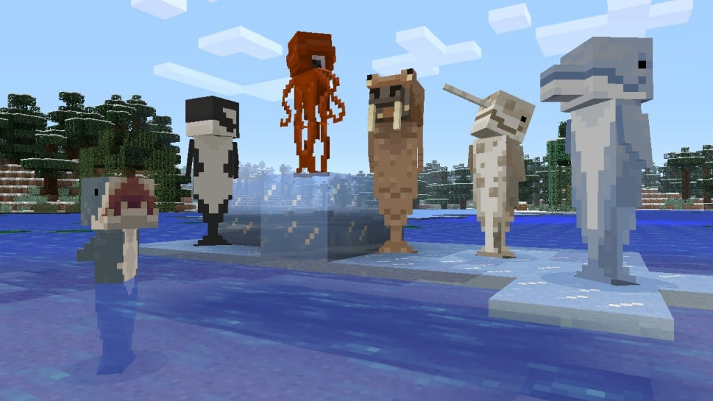 Minecraft How To Get Cat Across Water