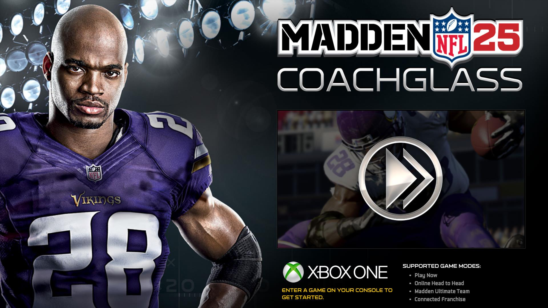 coachglass coming to madden 25 on xbox one