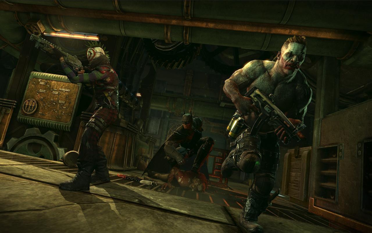 Batman Arkham Origins Multiplayer Elites Batman Arkham Origins