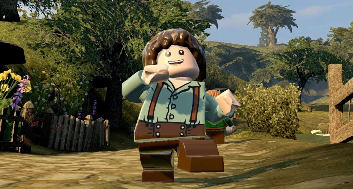 Incomplete story to work with and lego the hobbit being the third lego