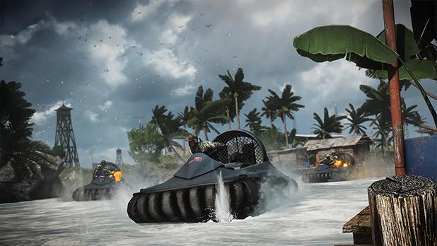 Naval Strike Hovercrafts
