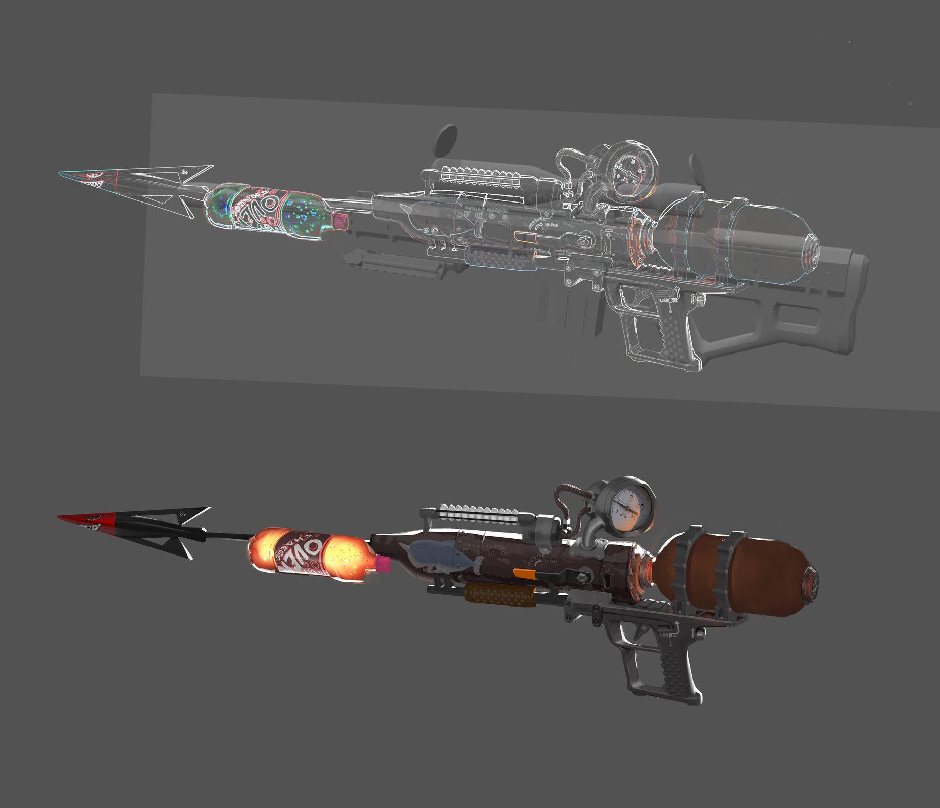how to make a roman candle machine gun