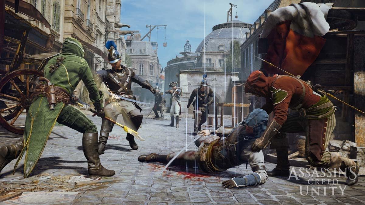игру assassins creed unity через торрент от механиков на пк