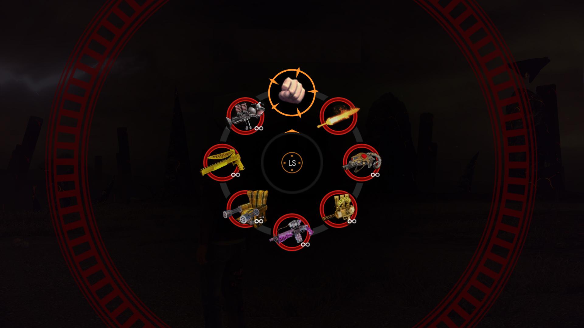 SR IV DLC Deadly Weapon Wheel
