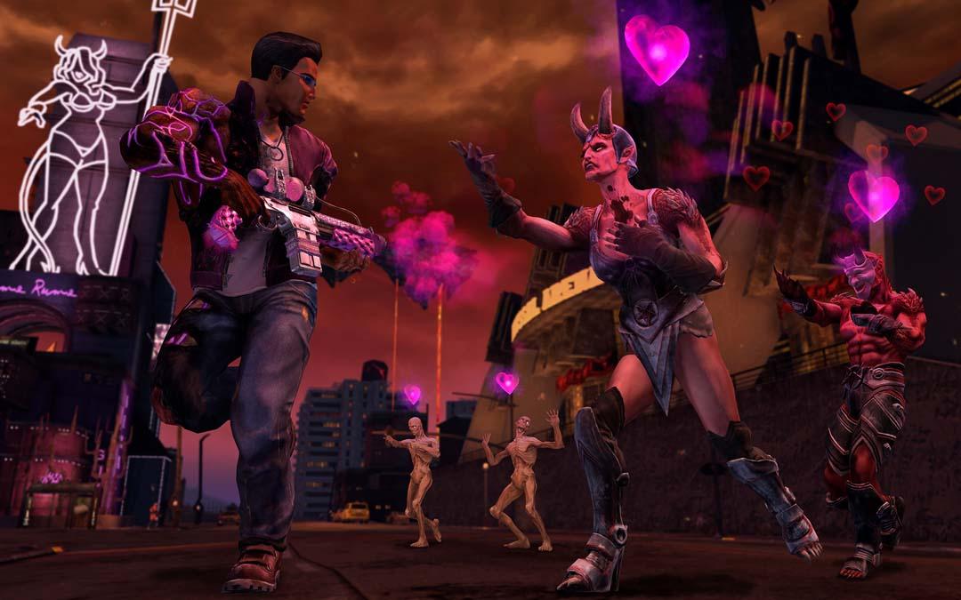 SR IV DLC Gat with Boom Chika