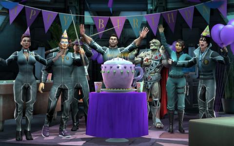SR IV Birthday Surprise