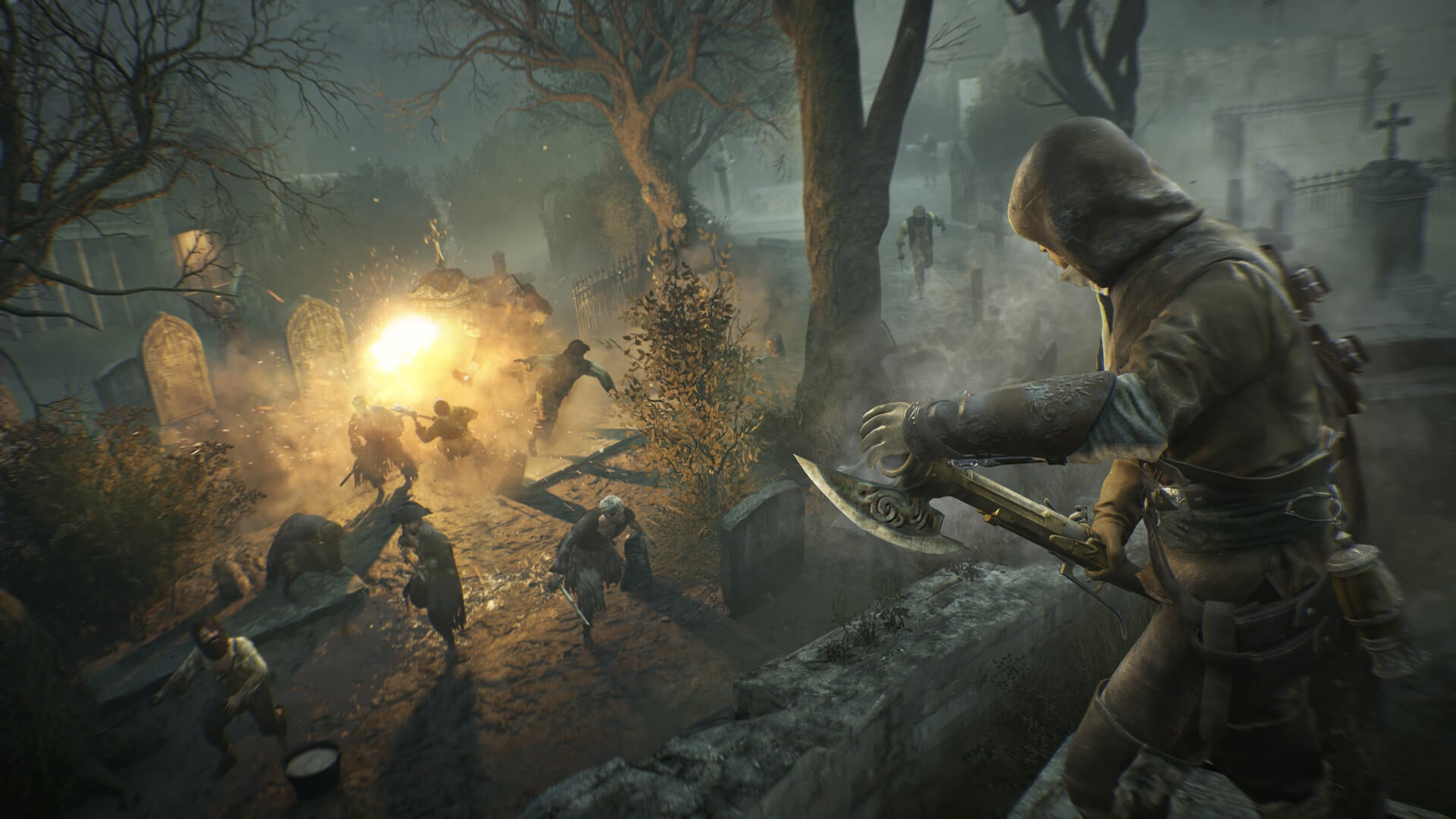 Assassin's Creed Unity Dead Kings Screens and Art