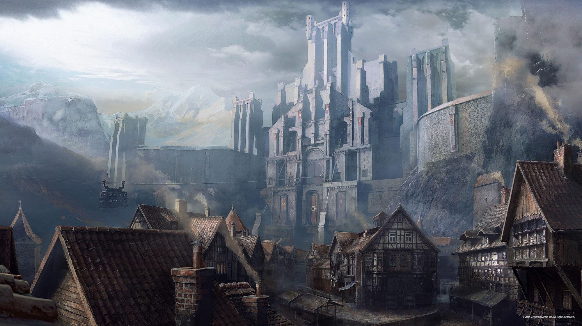 Wolfenstein the old blood announced for Castle wolfenstein