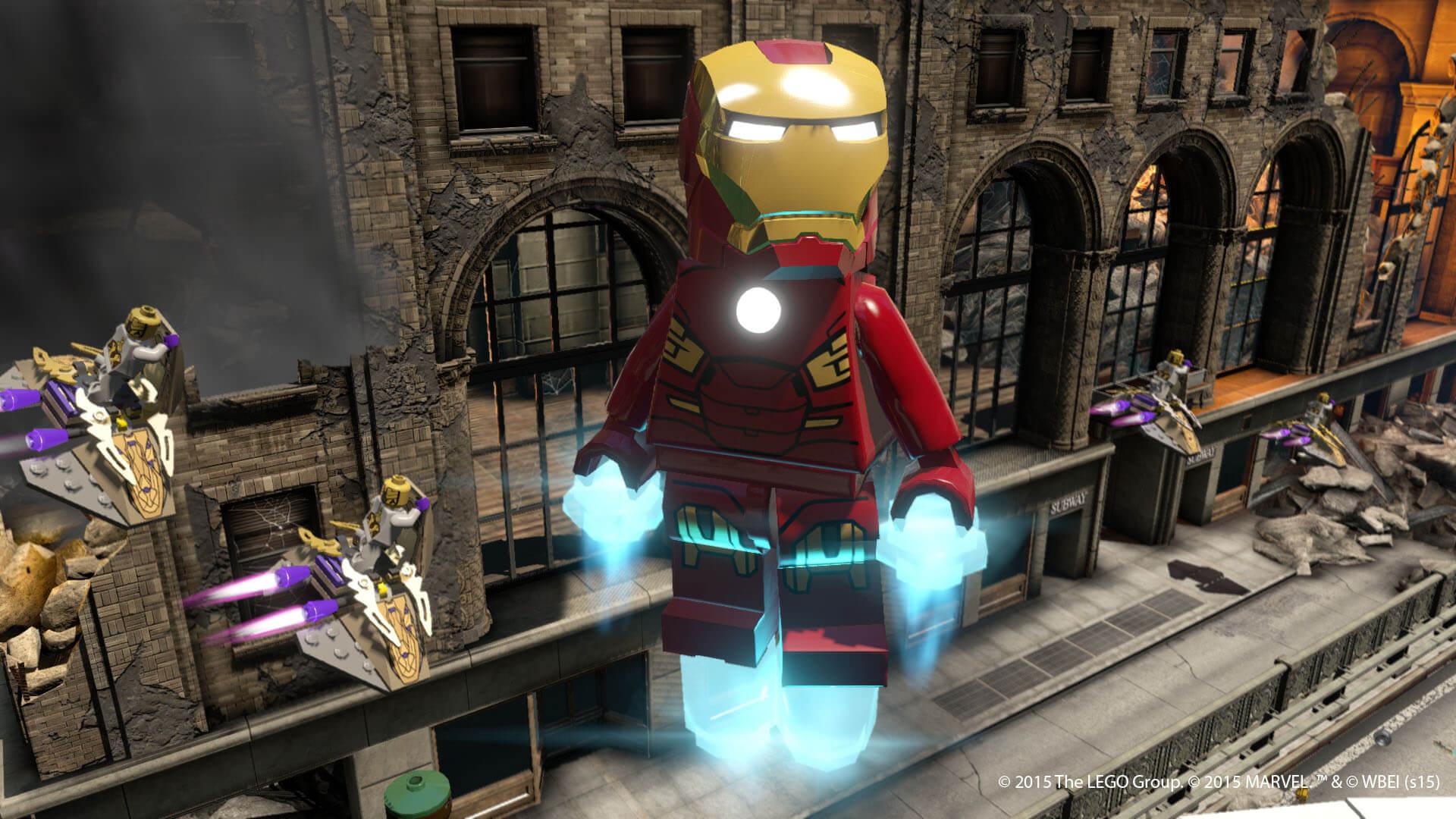 Lego Jurassic World, Lego Marvel's Avengers confirmed • Eurogamer ...