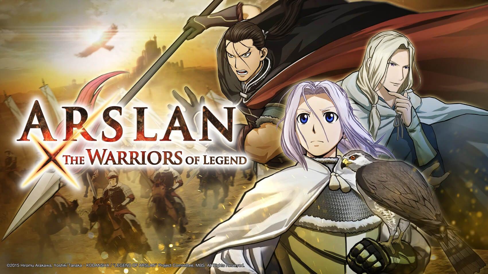 arslan:thewarriorsoflegend