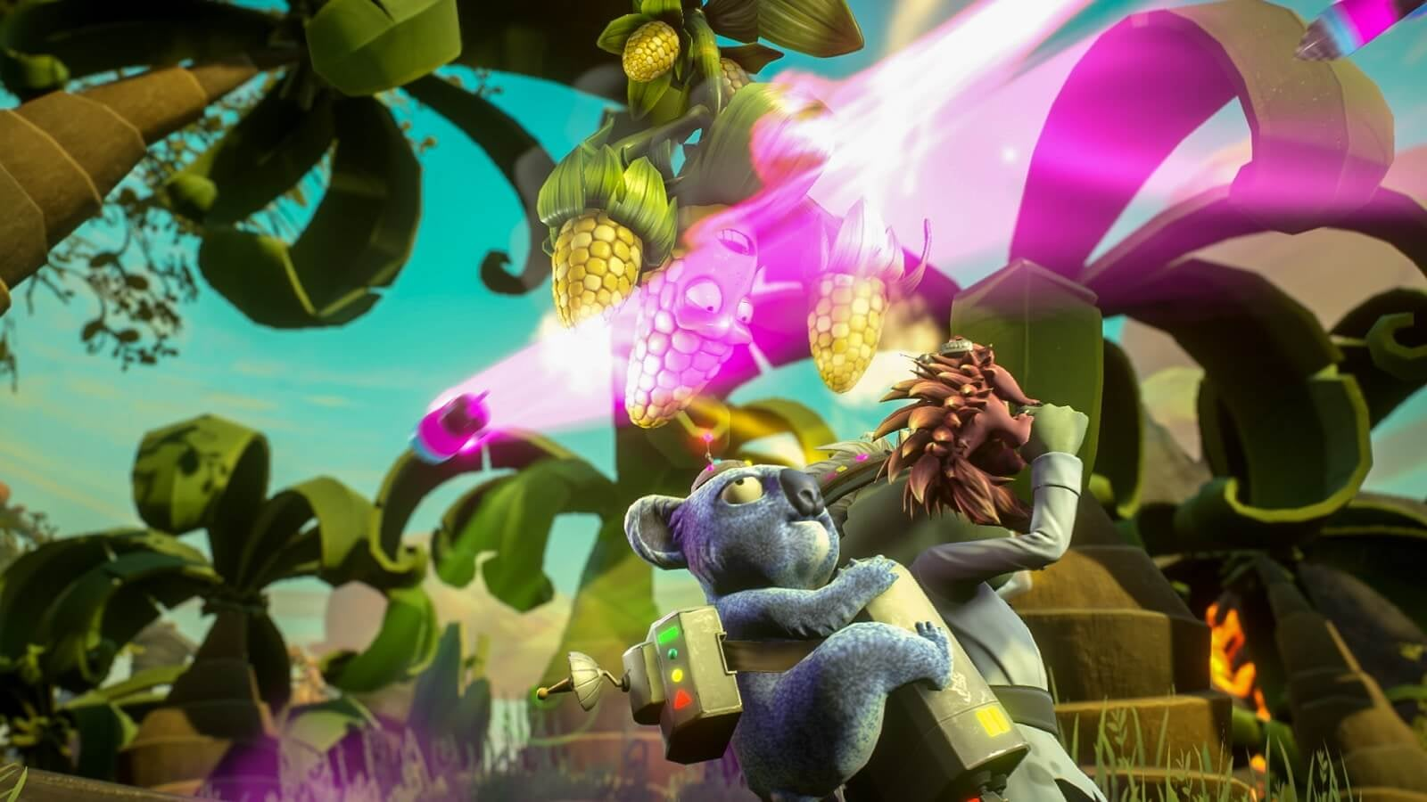 PvZ Garden Warfare 2 Gameplay and Artwork Montage