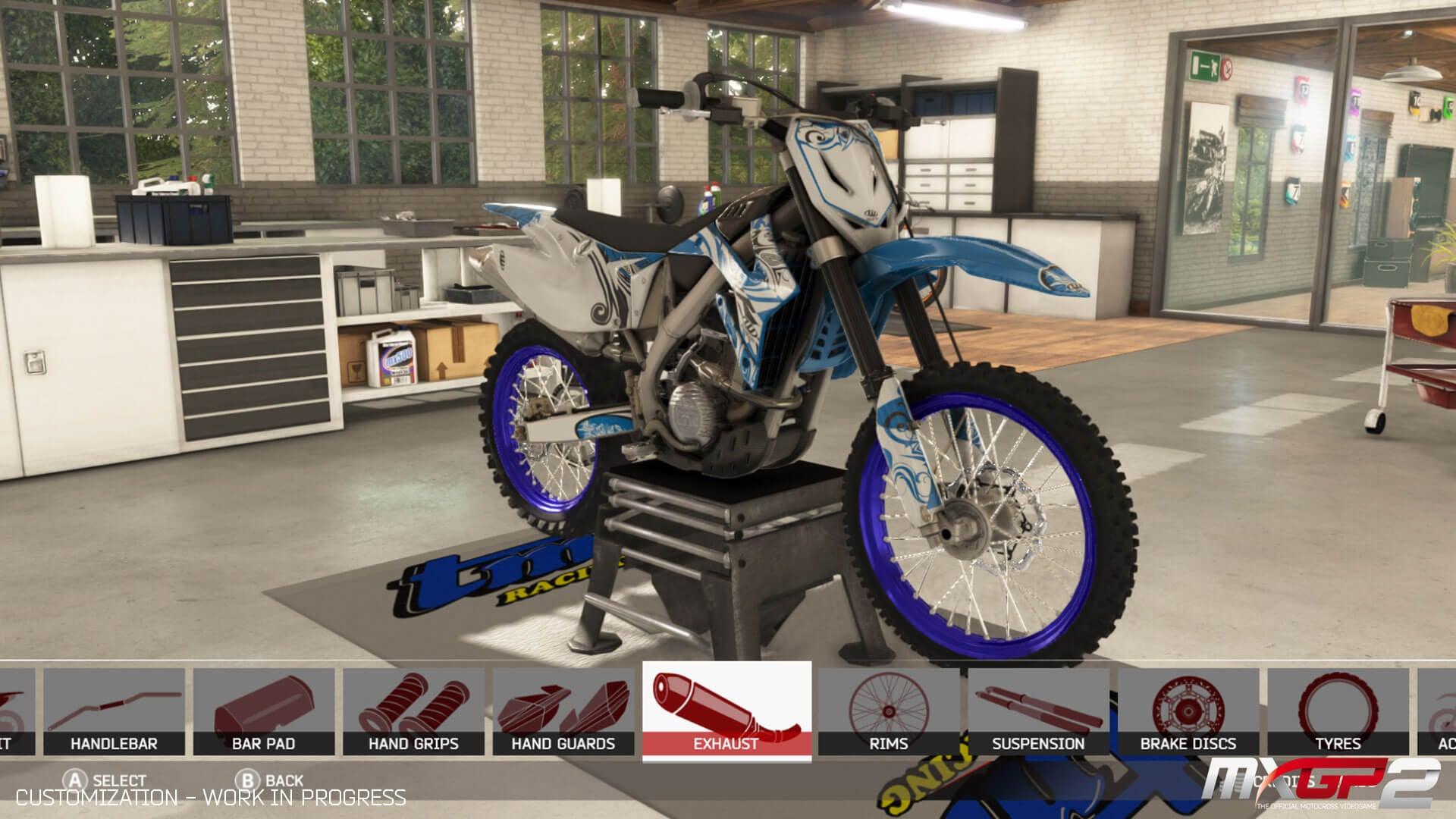 mxgp2 introduces bike and rider customization. Black Bedroom Furniture Sets. Home Design Ideas