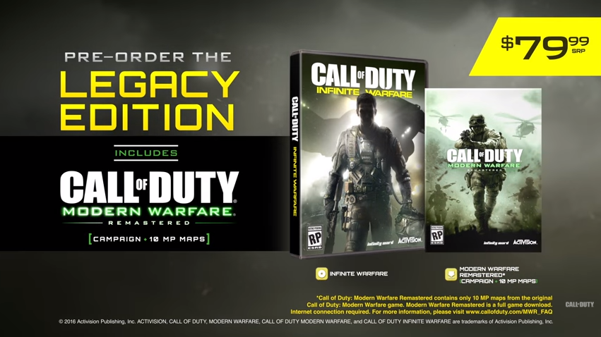 Activision Responds to Call of Duty: Infinite Warfare Hate