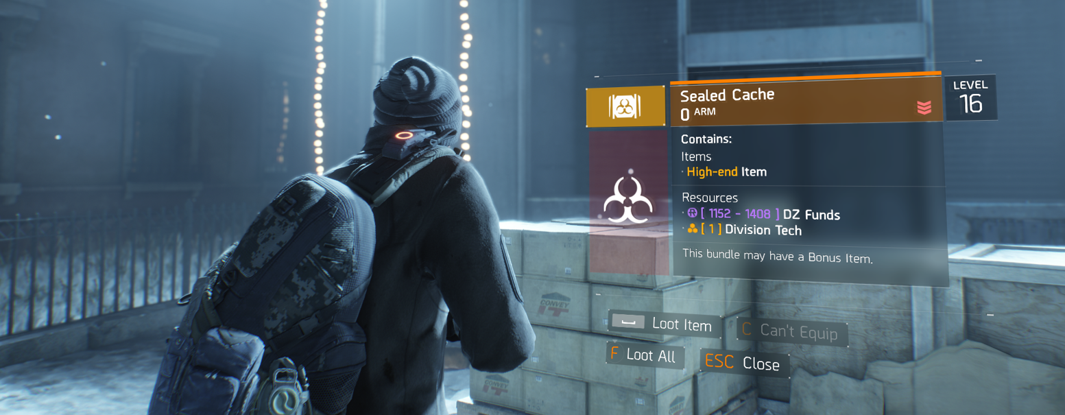 The Division Update 1.2 Screen 4