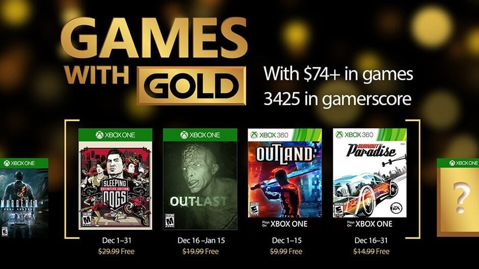 Microsoft Corporation (MSFT) Releases Xbox Live Deals with Gold for this Week