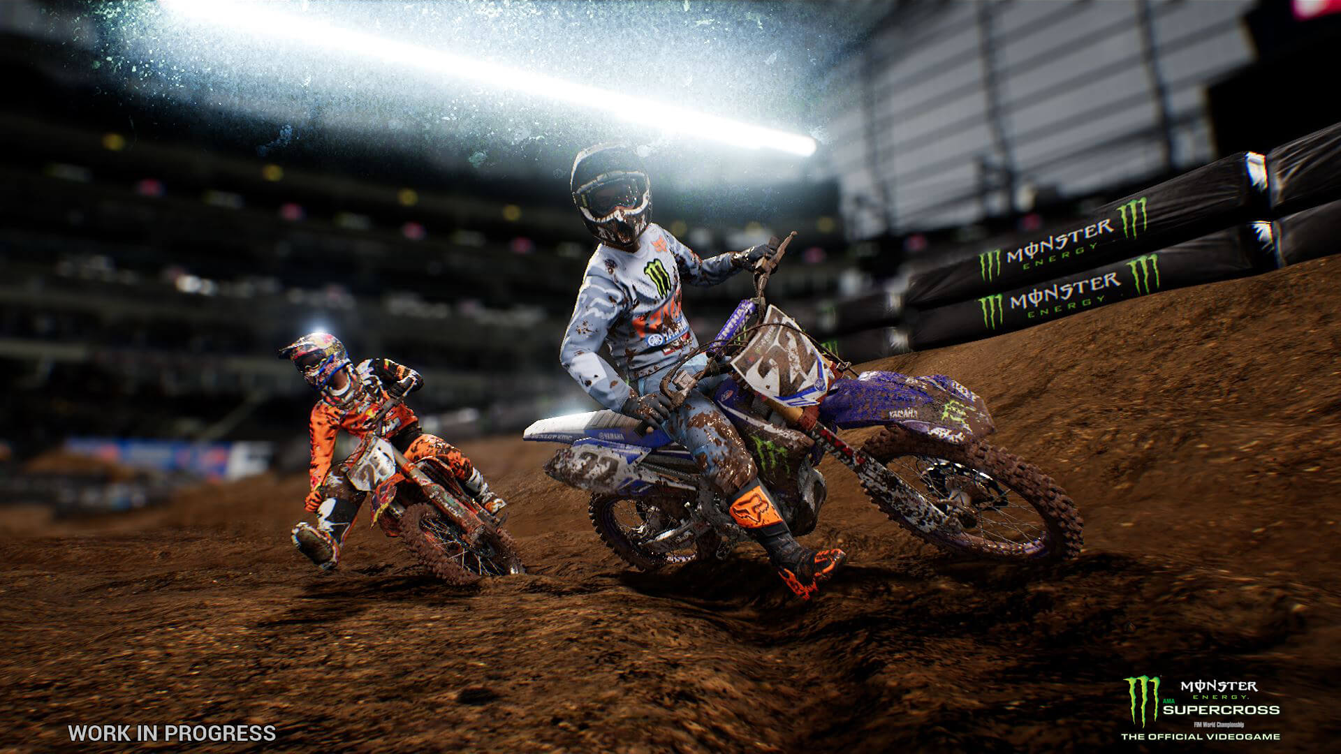 Amazoncom Monster Energy Supercross The Official