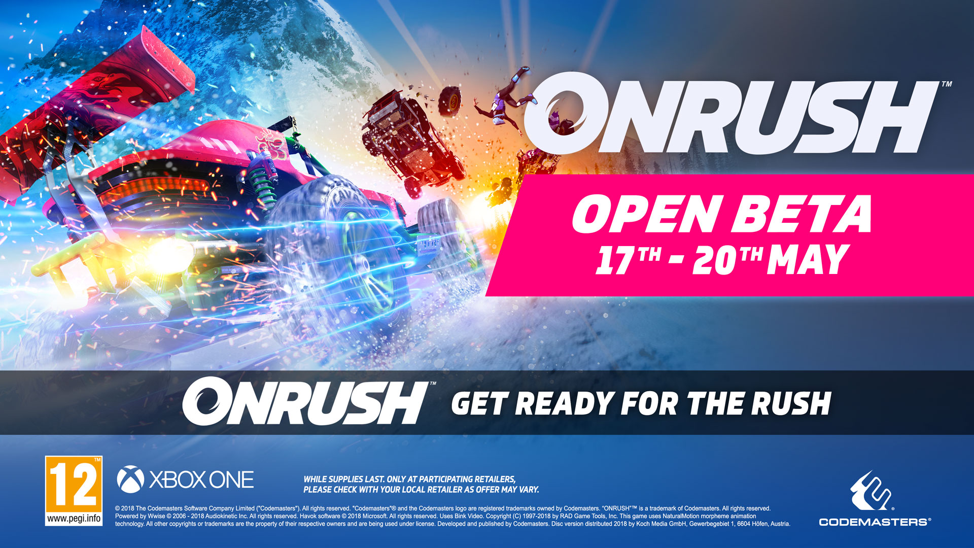 Onrush is having a public beta from May 17