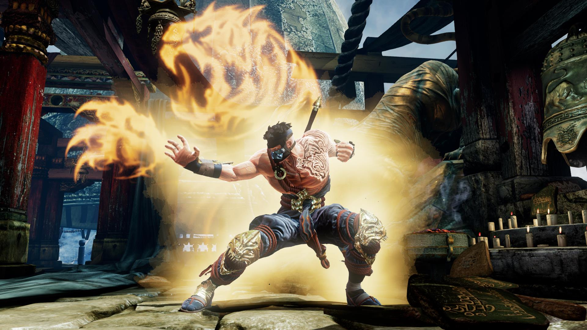 Tiger's Fury in Killer Instinct