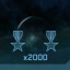 A Pile of Medals in Halo: The Master Chief Collection