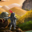 I'm just a guy with a bow in Gryphon Knight Epic