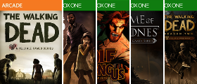Games Developed by Telltale Series