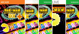 Pac-Man Windows Phone Series