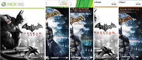 Batman Arkham PC Series