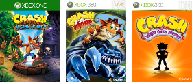 Crash Bandicoot Series