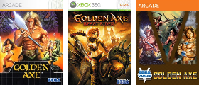 Golden Axe Series