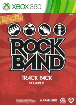 Rock Band Track Pack 2
