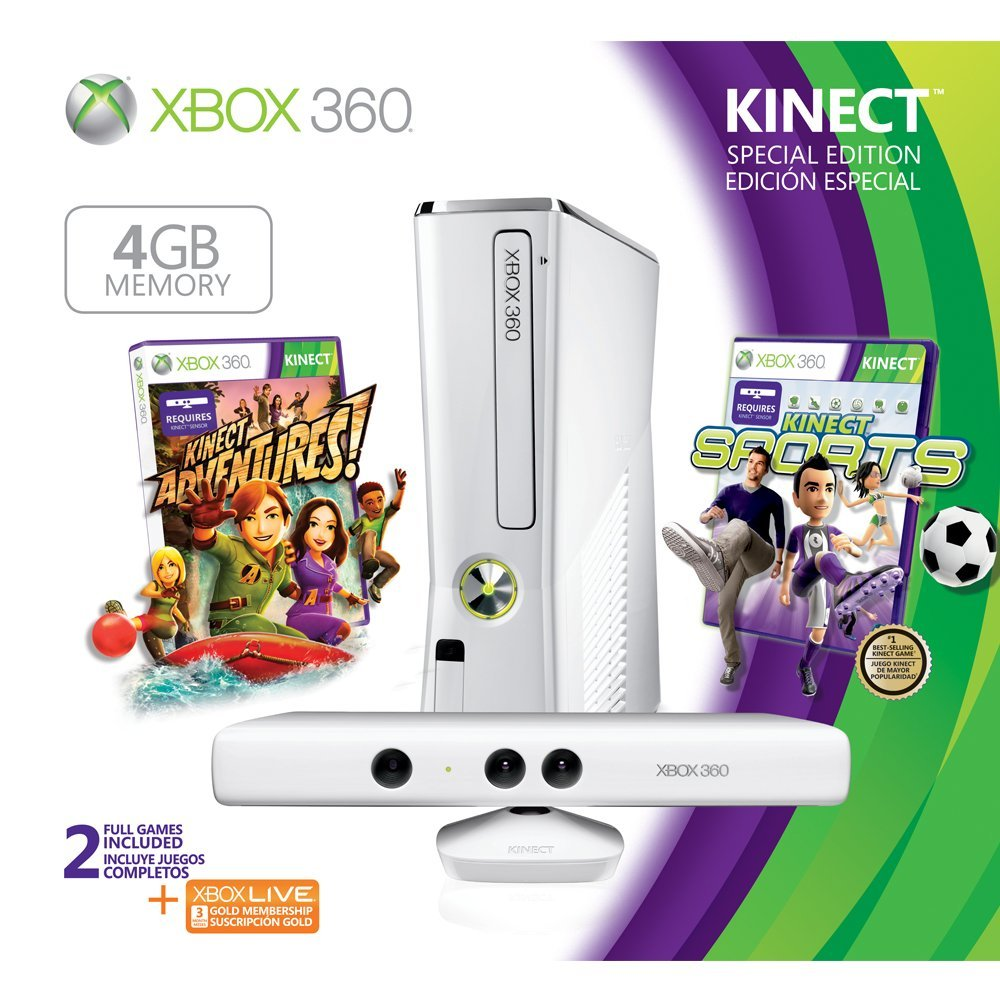 White Xbox 360 S Console Bundle Revealed