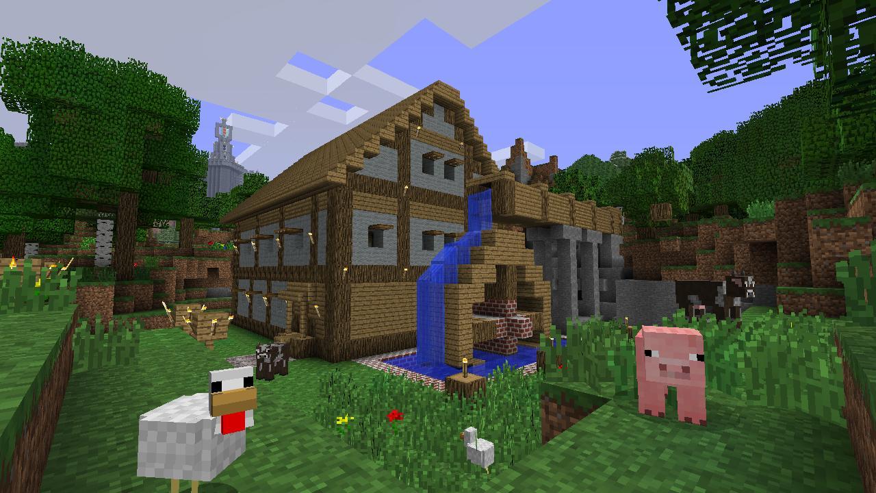 LouisCraft Версия 1.7-1.8 сервер Minecraft