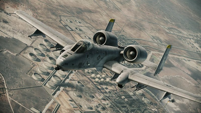 More Ace Combat Assault Horizon Aircraft Screens