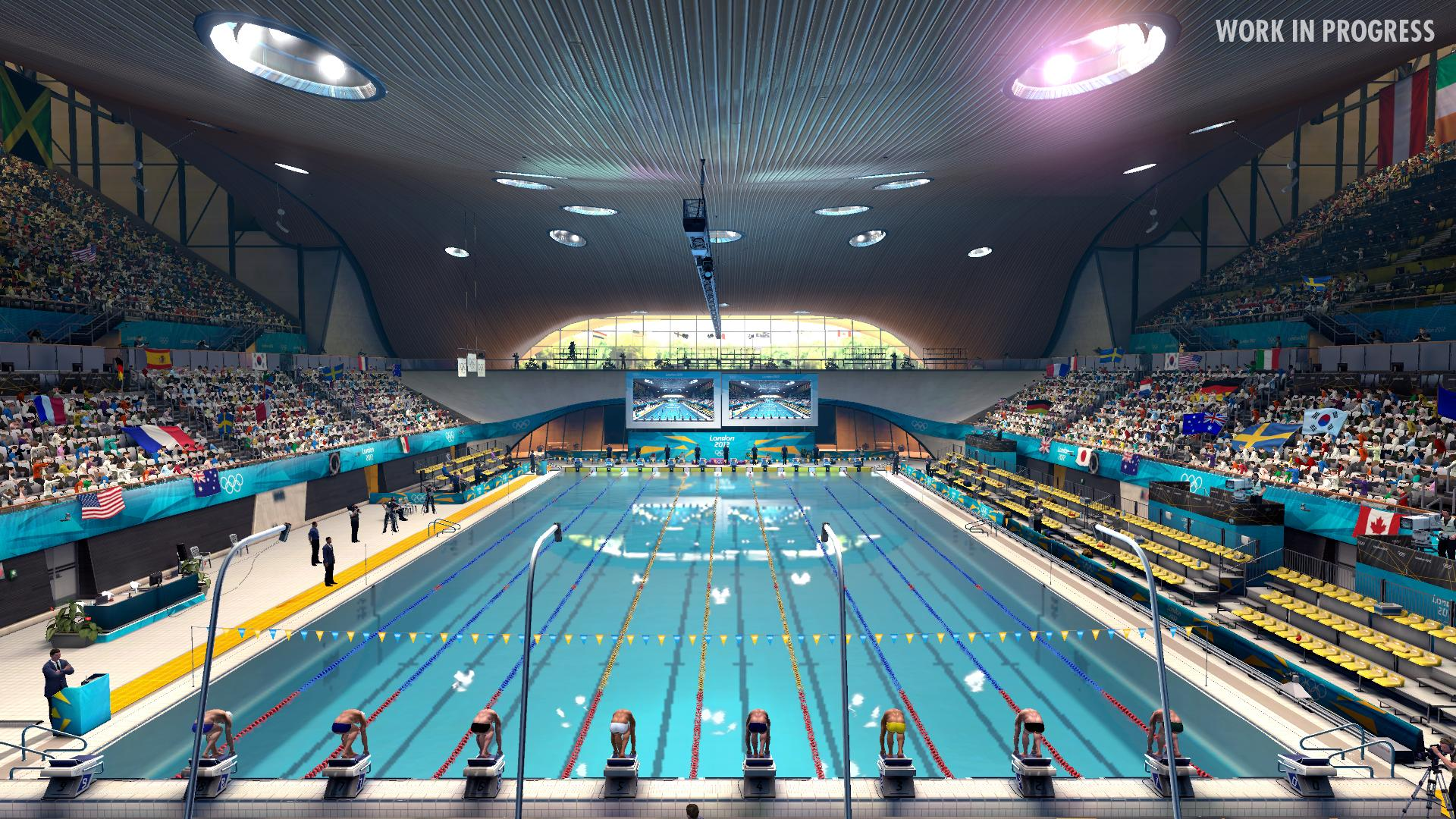 Awesome ... Olympic Swimming Pool 2012