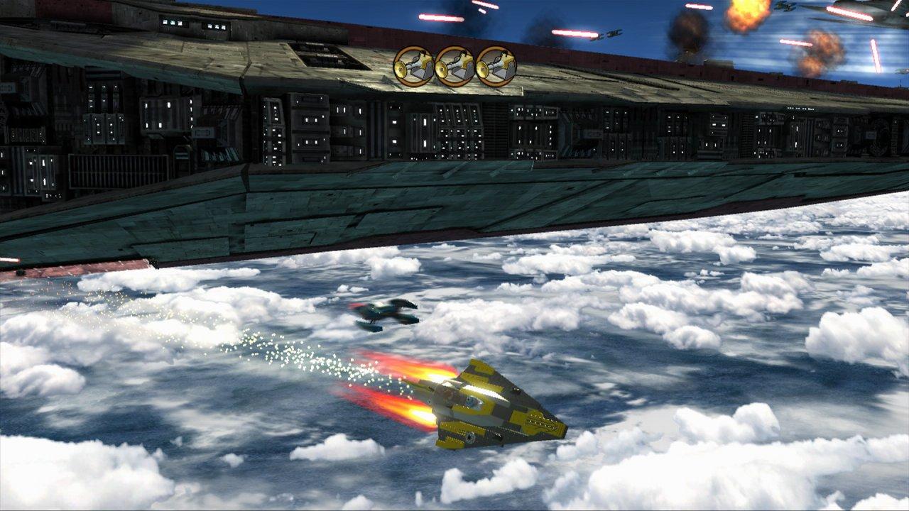 Lego star wars iii the clone wars vehicle info - Anakin S Starfighter