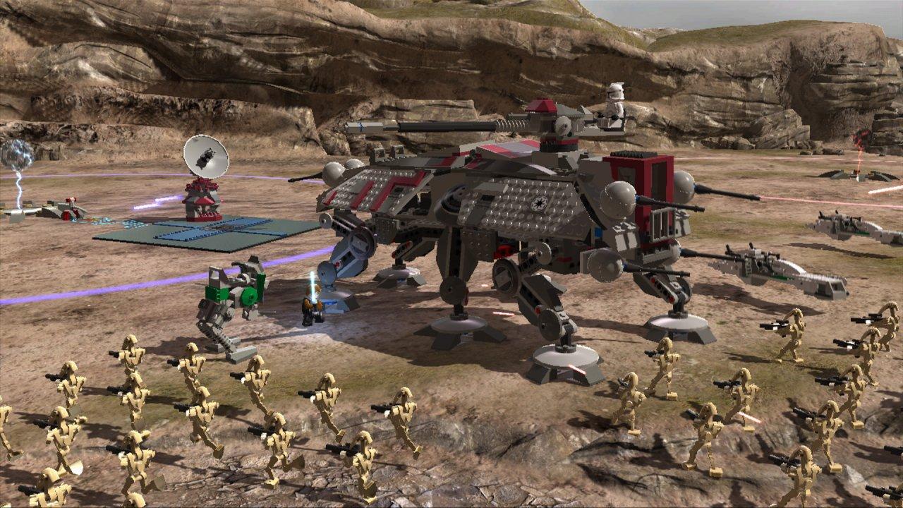 Lego star wars iii the clone wars vehicle info - At Te