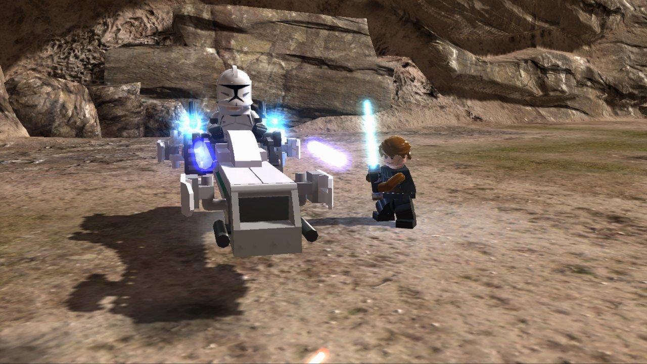 Lego star wars iii the clone wars vehicle info - Barc Speeder