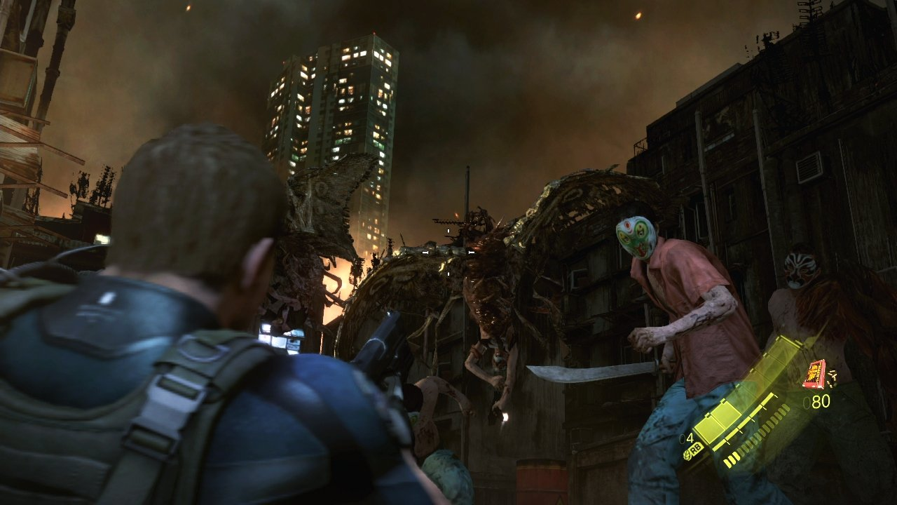 Resident Evil 6 E3 Character Screenshots