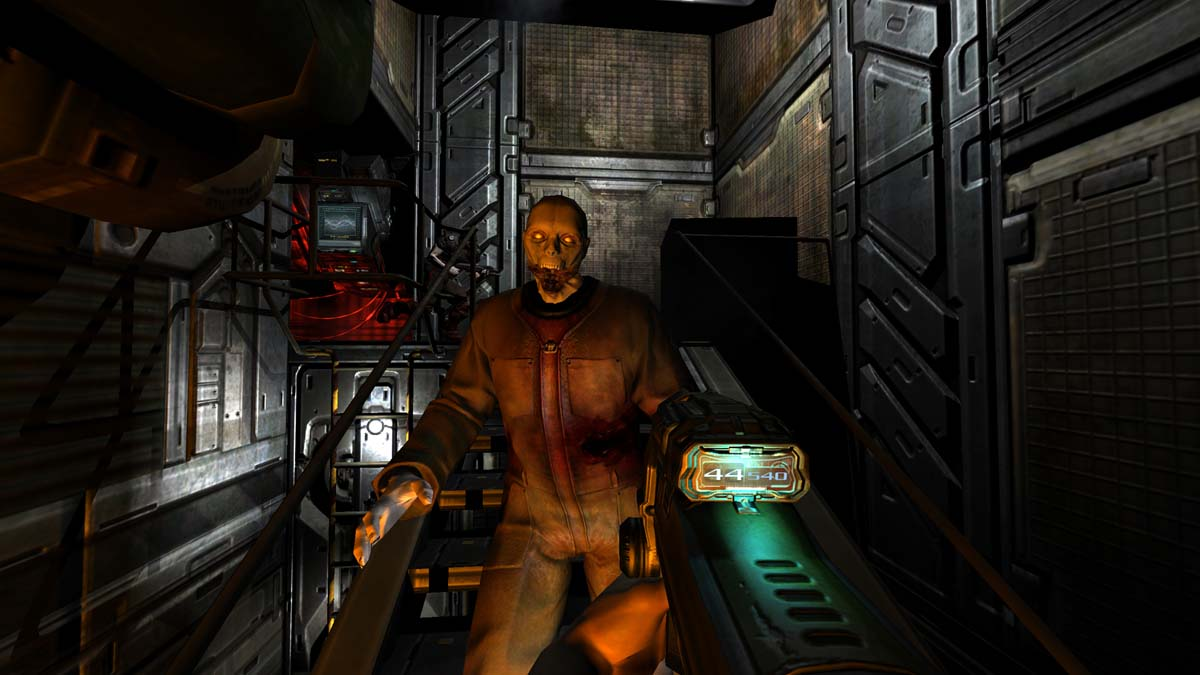 If You The Texture Pack Add Ons Found At Perfected Doom 3 Moddb Page They Include New Hd Skins For Weapons Objectonsters