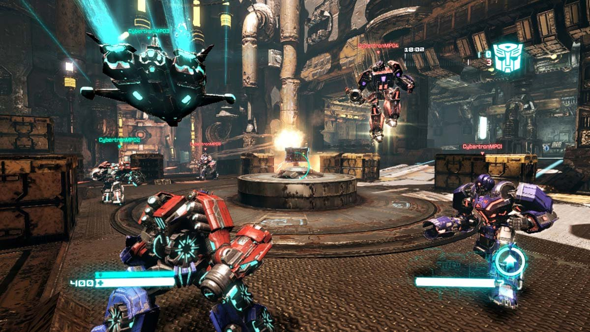 Transformers: fall of cybertron xbox 360 review   console obsession.