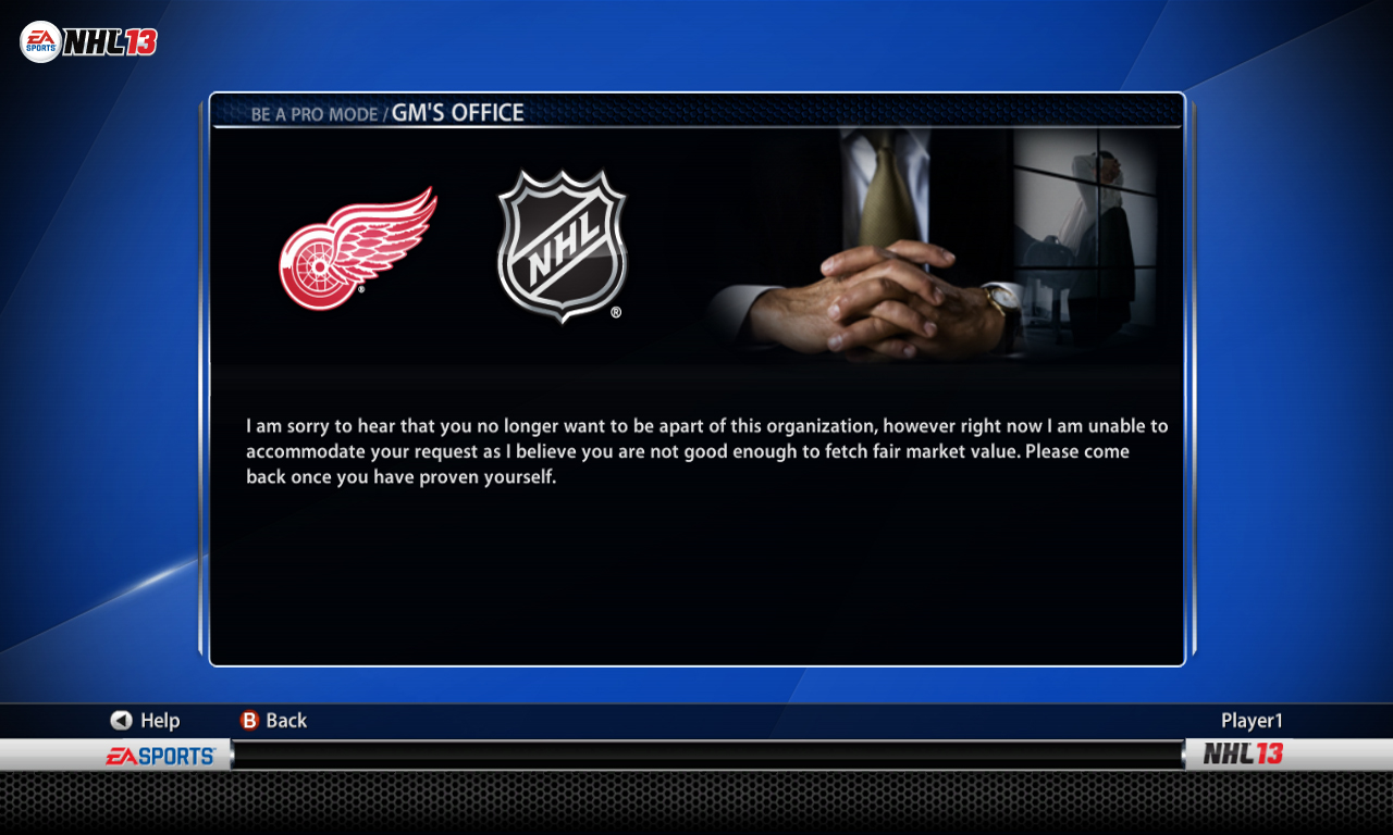 Nhl 14 gm mode best trade show giveaways